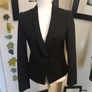 Anthropologie brand elevenses EUC tux jacket